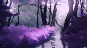 Amethyst Forest by LyFaye