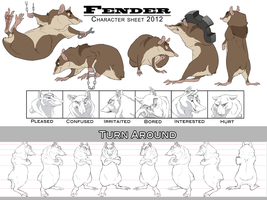 Fender char sheet by DawnFrost