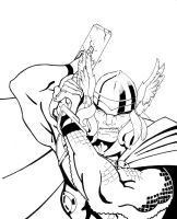 Thor inked by WTK