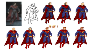 Injustice Superman by Pixel-M
