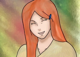 Kushina:color by NarutoSecretHope
