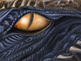 A Dragon eye II by jimmyst1