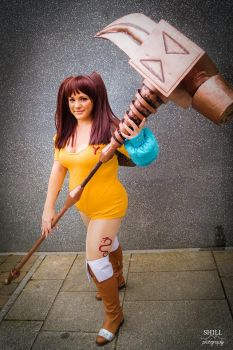 Diane - Seven Deadly Sins by Sapphistar-Cosplay