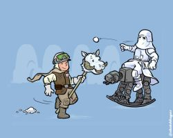 Hoth Playground by sketchboy01