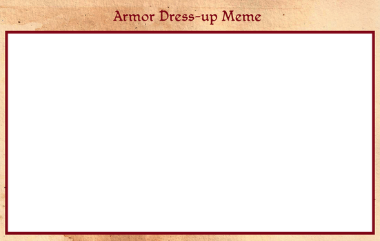 TMM - Armor Dress-up Meme by misi-chan