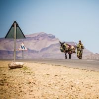 Marocco (woman with donkey) by Rob1962