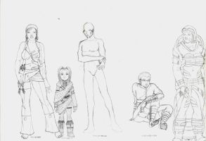 Character Designs 1 by LogicDreams