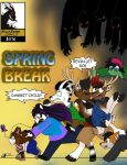 Spring-break-comic-cover by payero01