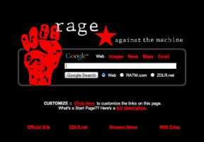 Rage Against the Machine Start by AwesomeStart