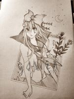 only pencil sketch by xyGowenxy