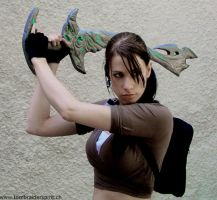 Max as Lara croft - Legend by MaxChi