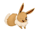 Eevee by Lynxclaw