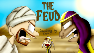 RS Quest Titlecard Series - The Feud by prezleek