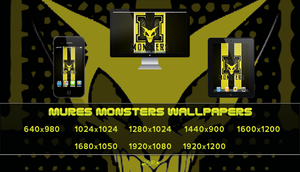 Mures Monsters Wallpapers-V1 by pasar3