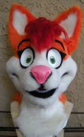 New Malice Fursuit Head by Captain-Sparrow