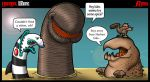 CineMons: Worms by JSComix