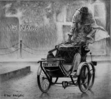 Drawing pencil - Vietnamese by Gattanday