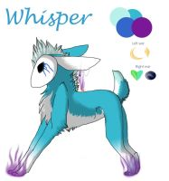 Whisper Ref by WolfStarr7