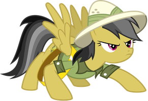 Daring Do is Freaking Ready! by Soren-the-Owl
