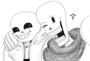 Precious Skeleton Bros by Batsu13angel