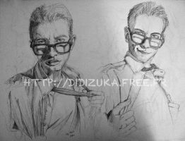 Males with glasses by didizuka