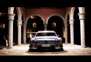 ASPHALTE mercedes DTM by morgan2pix