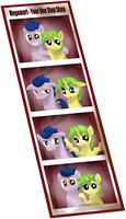 Purple Kay and Razor from the Photo Booth! by JetWave