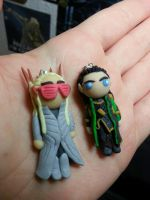 Thrandy and Loki by Oceansoul7777