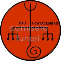 ponto riscado exu 7 CATACUMBA by camiseta-funari