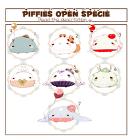 [CLOSED] ADOPT AUCTION 192 - Piffies by Piffi-adoptables