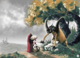 Little Red Riding Hood by kevinwalker