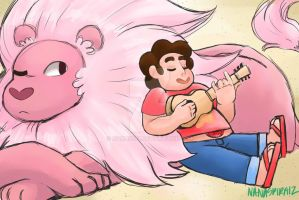 Steven And Lion by nana3192