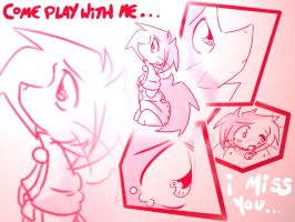 Hot Pink - Play with me by tei