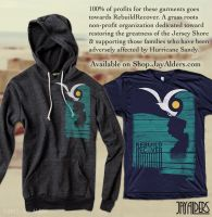 Hurricane Sandy Relief T-Shirt and Hoodie by jayalders