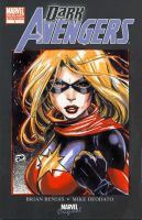 Ms. Marvel Sketch Cover by DNA-1