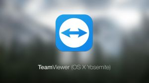 TeamViewer Icon (OS X Yosemite) by Baklay