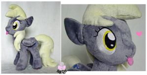 Much Derp-a- Derpy Hooves plush by scilk