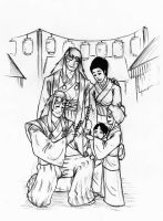Michio's Family by Greg-M