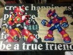 Zero vs zero perler! by TaliaNekoInuAlexis
