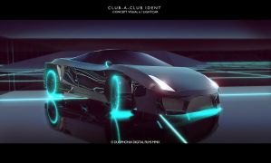 CLUBaCLUB Ident concept TRON2 by Duophonix
