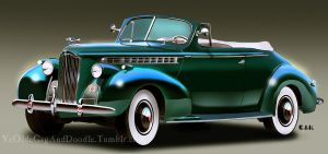 Return of the 1941 Packard by TwoStripTechnicolor