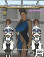 Robotica: Issue 1 Cover by TrekkieGal