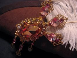 Steampunk details - Hat Brooch by Space-Invader