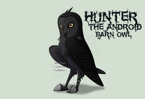 Hunter the Android Barn Owl by Xbox-DS-Gameboy