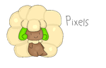 Whimsicott Pixel Art by Frost-New-Gen