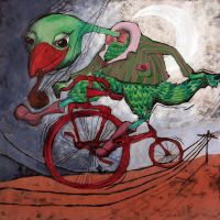 red bicycle by Ralu77