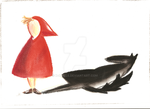 Little Red Riding Hood by K-naille