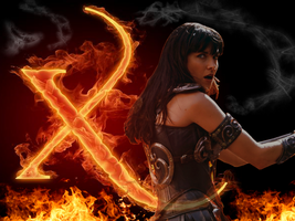 Xena with a X by Maurandjane