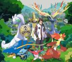 DeviantID - Pokemon X Team by Xpand-Your-Mind