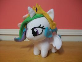 Princess Celestia 12 inch Chibi Pony Plushie by happybunny86